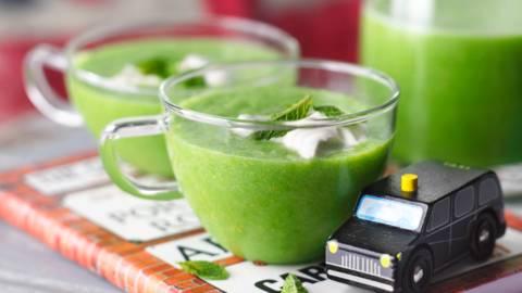 Зелена лятна супа