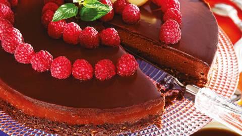 Шоколадова торта с маскарпоне