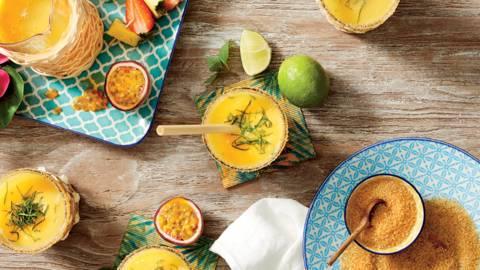 Безалкохолен коктейл с карибски привкус