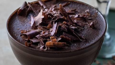 Коктейл с натурален шоколад и кафе