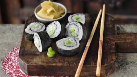 Вегетарианско маки суши