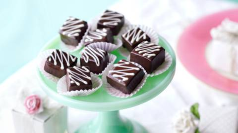 Шоколадови бонбони с кафе и уиски