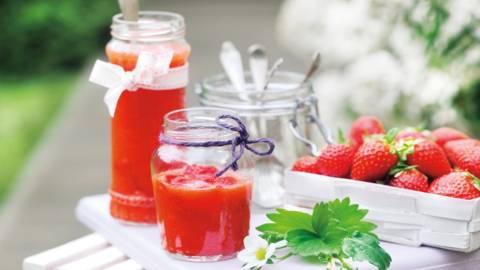 Конфитюр от ягоди без варене
