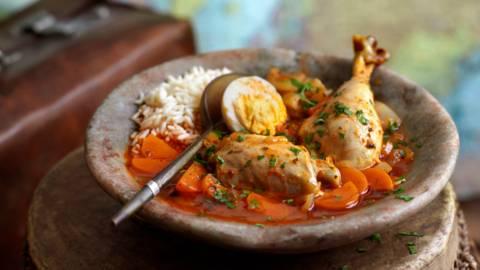 Doro Wot - пилешка яхния по етиопски