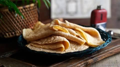 Инджера (етиопски плоски питки)