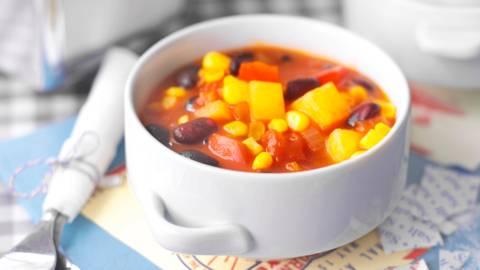 Сукоташ (гъста индианска супа с боб и царевица)
