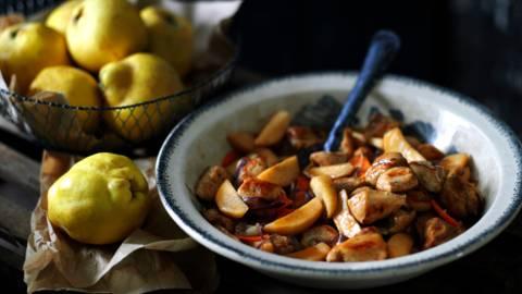 Пилешко филе по арабски с дюли