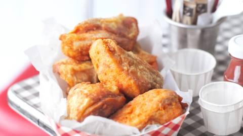 Пържено пиле по южняшки