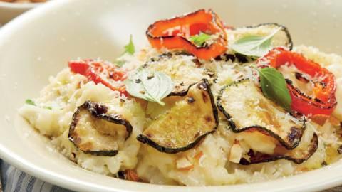 Оризова салата със скариди по сицилиански