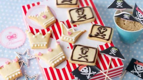 Пиратски и принцески бисквити