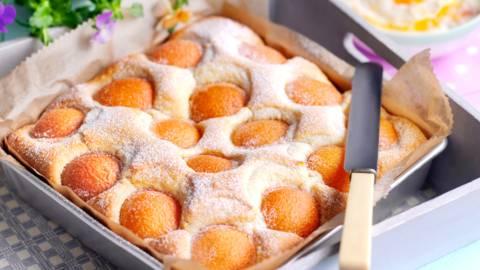 Хапки с кайсии и бадеми