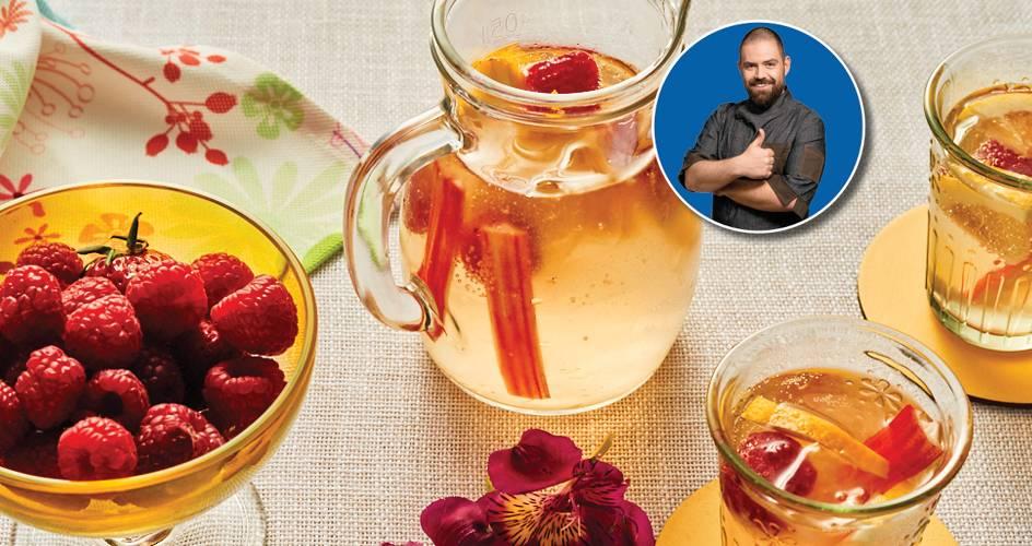 Лимонада с малини по рецепта на шеф Шишков
