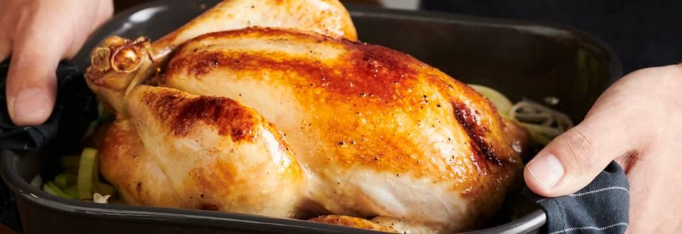 Пълнено пиле с картофи ипразнафурна по рецепта на шеф Шишков