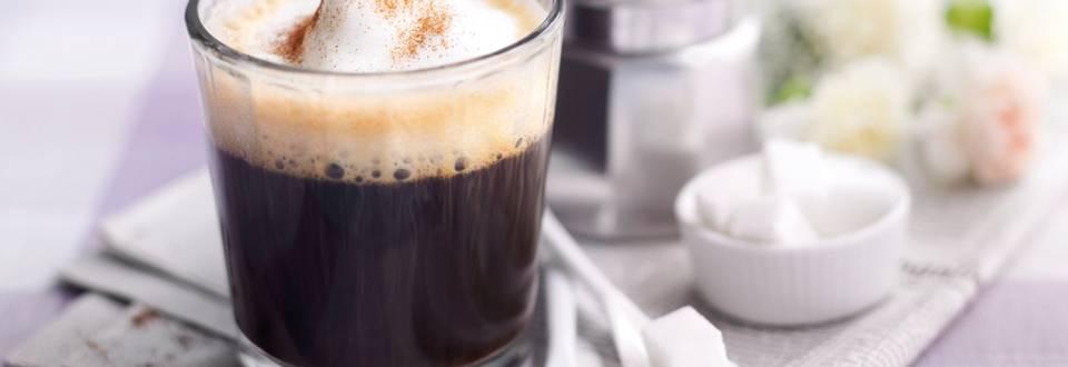 Портокалово-канелено кафе