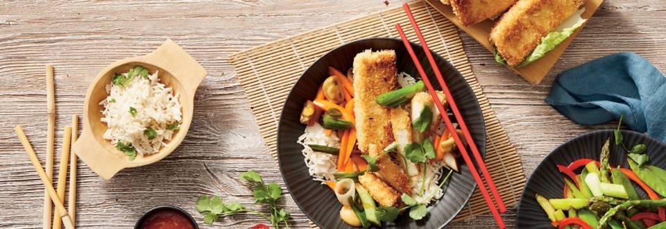 Хрупкаво тофу