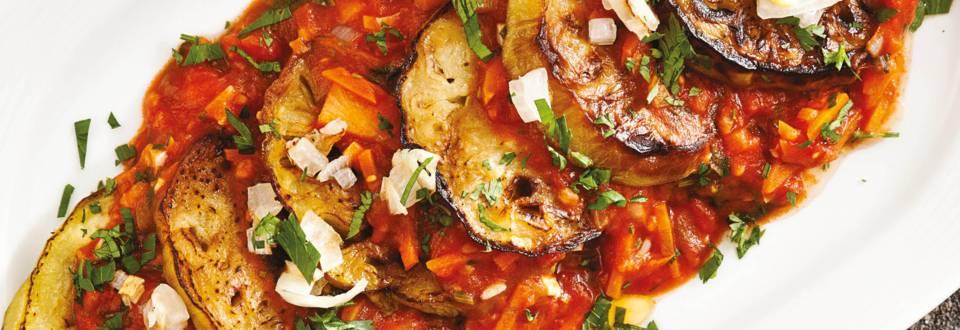 Патладжан с доматен сос