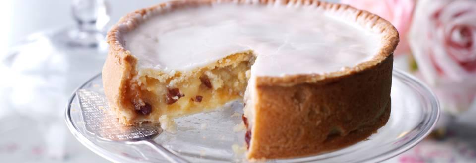 Покрита ябълкова торта
