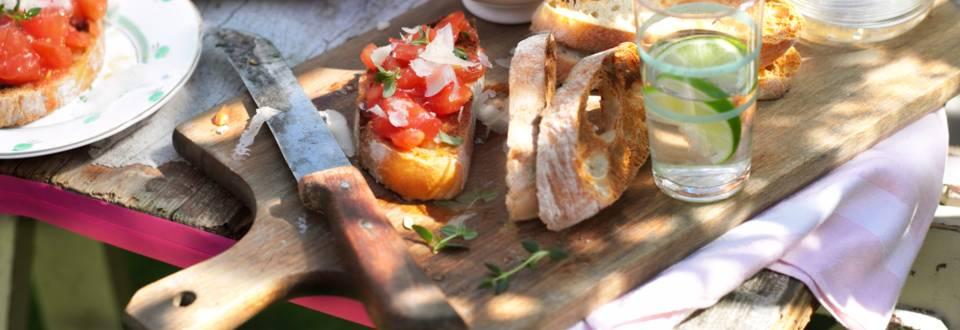 Испански доматен хляб