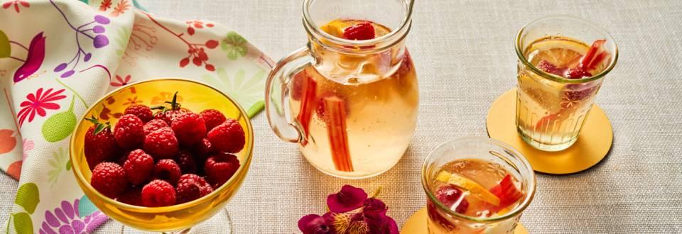 Лимонада с малини и ревен по рецепта на шеф Шишков
