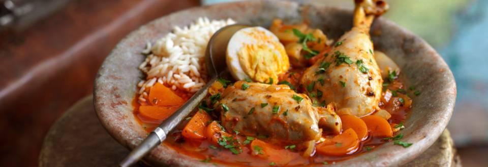 Doro Wot – пилешка яхния по етиопски