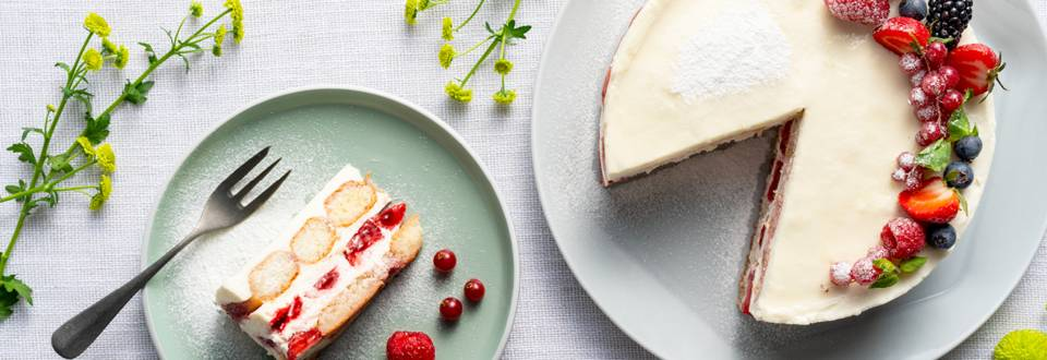 Ягодово тирамису – чудесна пролетна рецепта