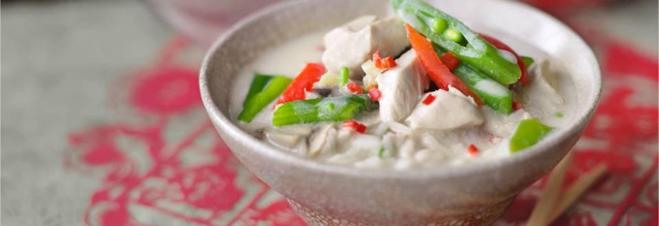 Том ка гай – тайландска кокосова супа