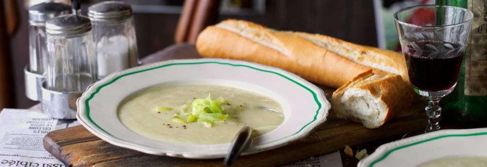Вишисоаз – студена крем супа от картофи и праз