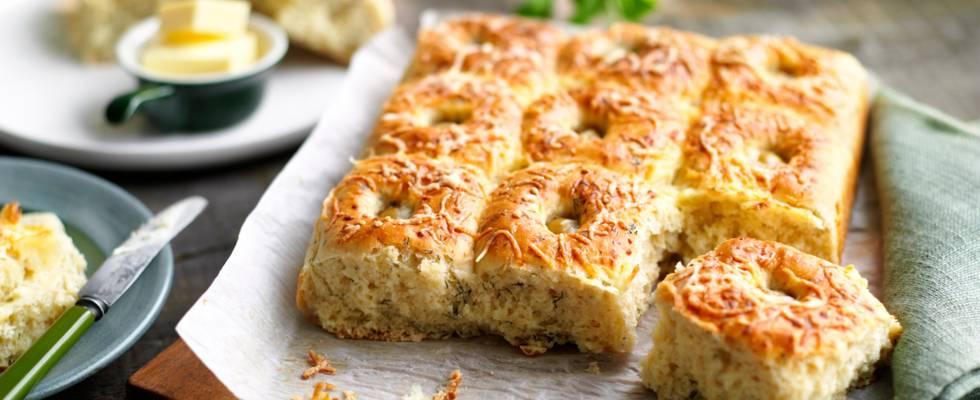 Хлебчета с копър и сирене